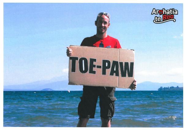toe paw