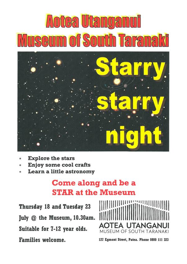 a starry