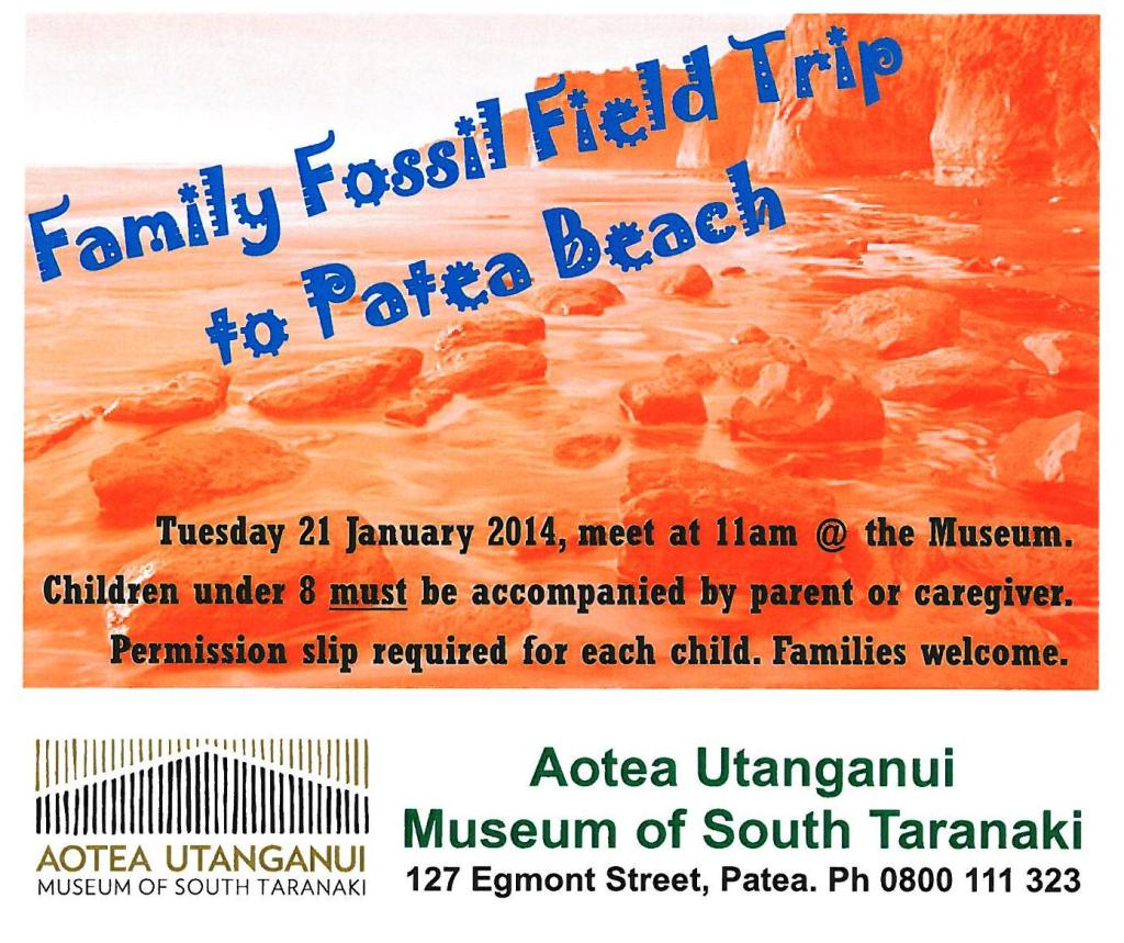 family fossil field trip