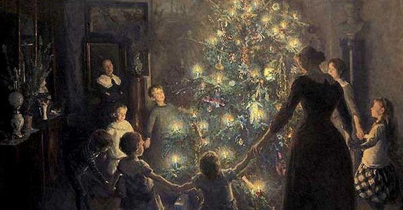 The Origin Of The Christmas Tree.Origin Of The Christmas Tree Aotea Utanganui