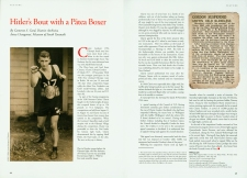Clarrie Gordon Article, NZ Memories Magazine 2012