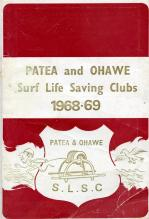 Patea and Ohawe Surf Life Saving Clubs 1968-69 Booklet