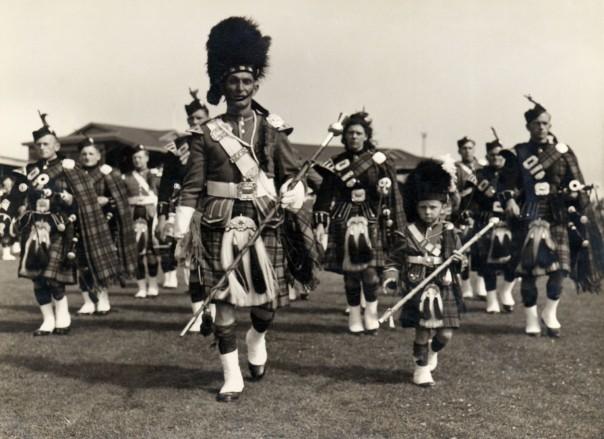 2000.12 Patea Pipe Band, 1950's