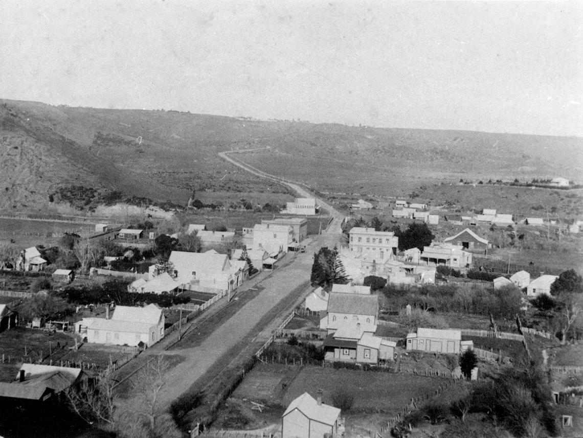 00-245 Waitotara township c1900