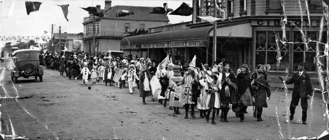 Peace Parade, Patea 1918