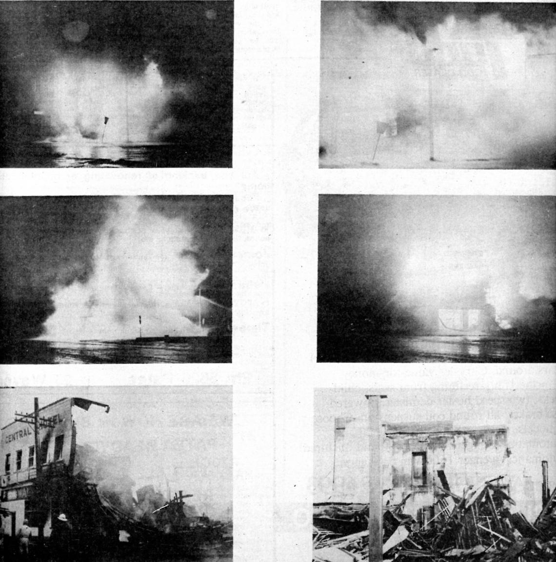 Central Hotel Fire 1976, Patea