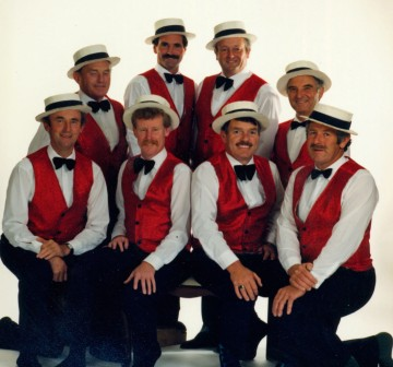 Barbershop Group, 1987, #11132