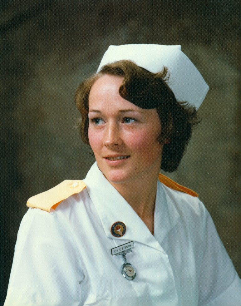 C. Bourke, Nurse, 1976, #5280