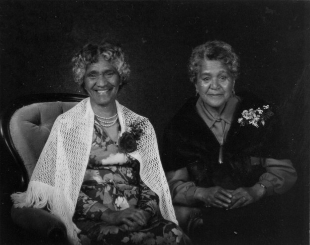 Maori Debutante Ball, Women, 1978, #6227