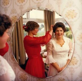 Schultz-Muggeridge Wedding, 1982, #7568