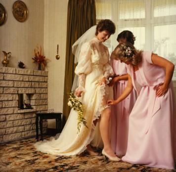 Stone-Darrah Wedding Party, 1983, #7589