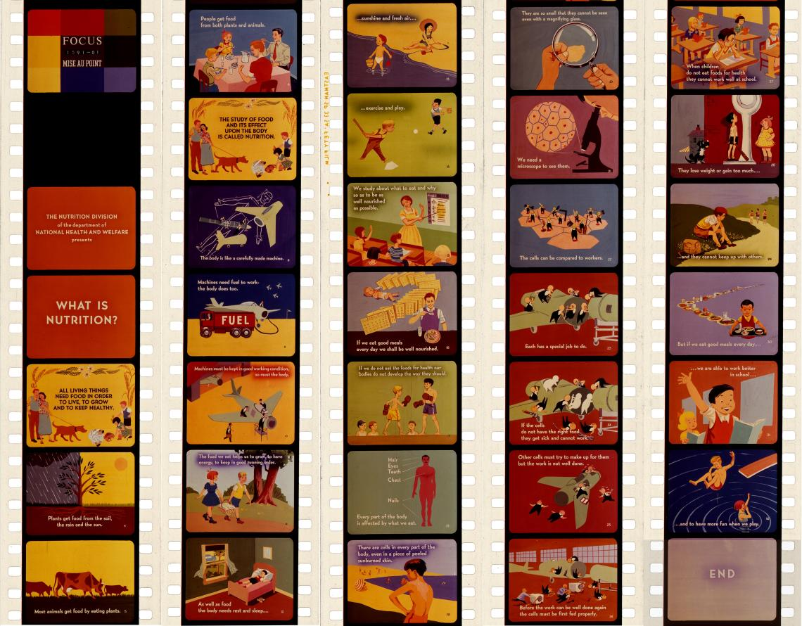 Layout for Educational Films