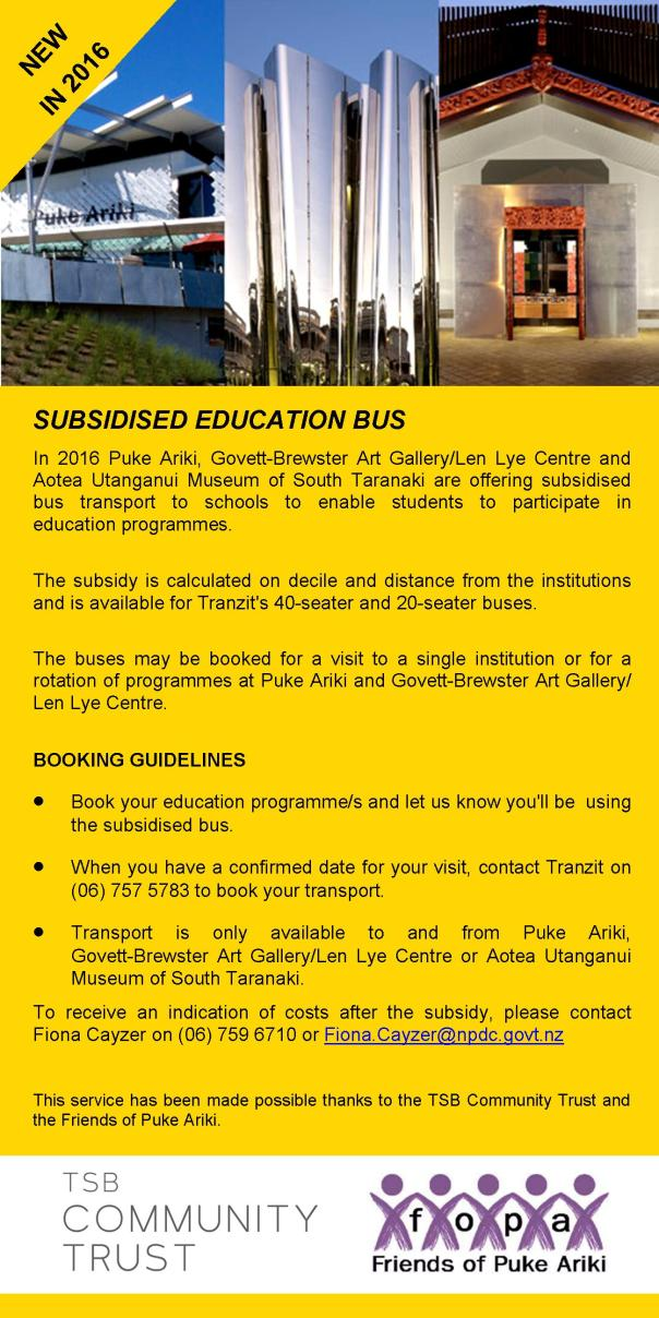 Subsidised Education Bus - Promo for Blog Facebook