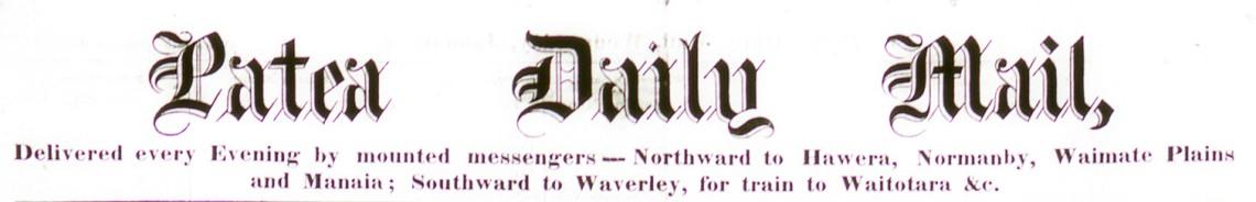 Patea Daily Mail, Jan 4 1882 - Copy